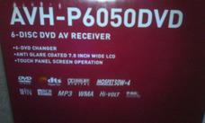 Pioneer Reproductor Dvd Avh-p6050dvd (nuevo)(hecho En Japon)