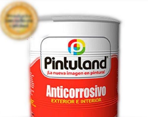 Anticorrosivo Pintuland Galon Gris. Negro, Blanco