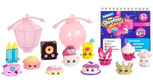 Shopkins Serie 7 Join The Party Pack X 12 Ar1 56355 Ellobo