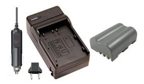 Kit Bateria + Carregador En-el3 P/ Nikon D50 D70 D80 D90