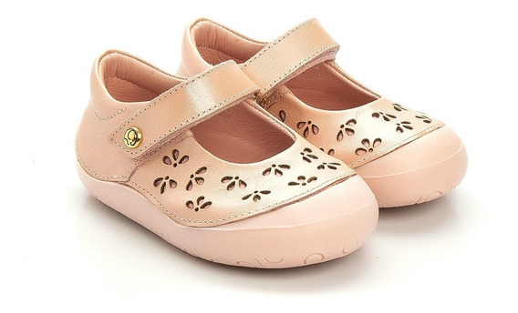 Sapatilha Gambo Baby New Steps Glitter Blossom Candy
