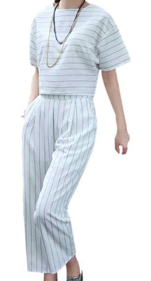 Conjunto Sportswear - Duas Peças - Calça E Blusa