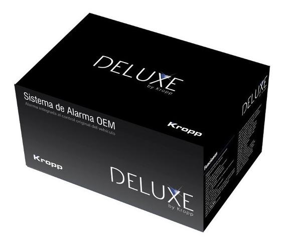 Alarma Auto Deluxe Volumétrica Dos Controles Y 4 Bloqueos