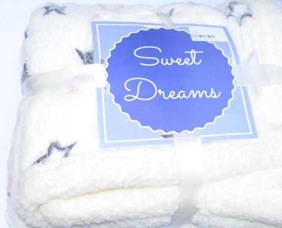 Manta Cobertor Bebê Sweet Dreams Soft 1,90m X 1,30m