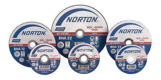 Disc Cort Inox 4 1/2 X 1/32 X 7/8 Bda08 Exfino Cjax25 Norton