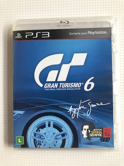 Gran Turismo 6 Ps3 Playstation 3 Original Mídia Física Senna