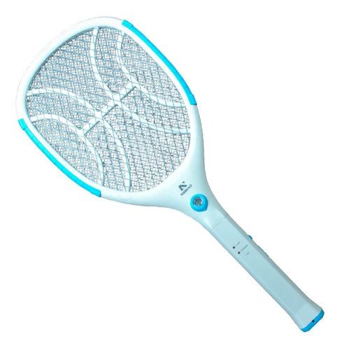 Raquete Elétrica Recarregavel Mata Mosquito Com Led Nsbao