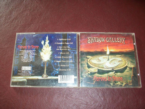 Shadow Gallery - Carved In Stone Cd Usa