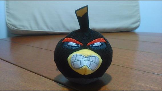 Coleção Pelúcia Angry Birds Bomba