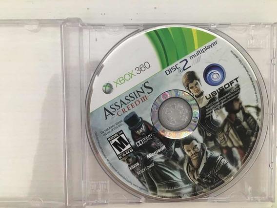 Assassins Creed 3 - Apenas 1 Disco