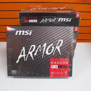 Msi Radeon Rx 580 Armor Tarjeta De Video 8gb Nuevo