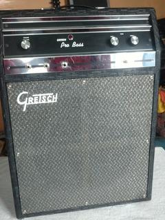 Ampli Gretsch Pro Bass 6170 Guitarra/bajo/organo Bulbos