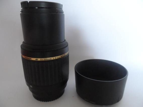 Lente Tamron Ld Di Ii (nikon) Af 55x200mm 1:4-5.6 Macro 52 A