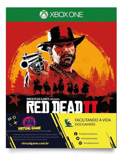 Red Dead Redemption 2 - Jogo Xbox One - Midia Digital
