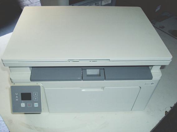 Impressora Hp Multifuncional M134a Com Toner Leia ! G3q66a