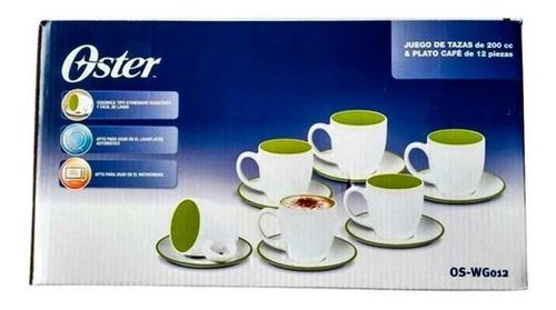 Juego Para Café X 6 Oster