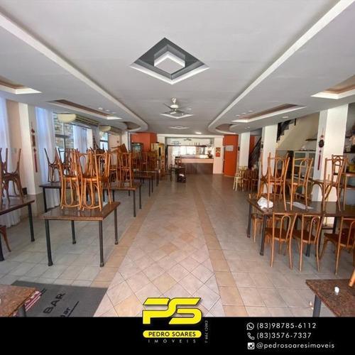 Imagem 1 de 15 de Prédio Para Alugar, 1,200 M² Por R$ 15.000/mês - Tambaú - João Pessoa/pb - Pr0054
