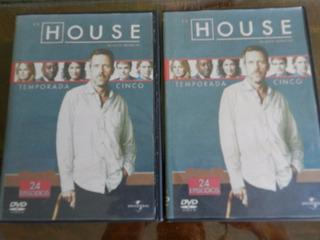 Dvd Serie Dr. House 5 Temporada