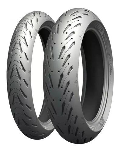 Cubiertas 190 50 17 + 120 70 17 Michelin Pilot Road 5 Cuotas