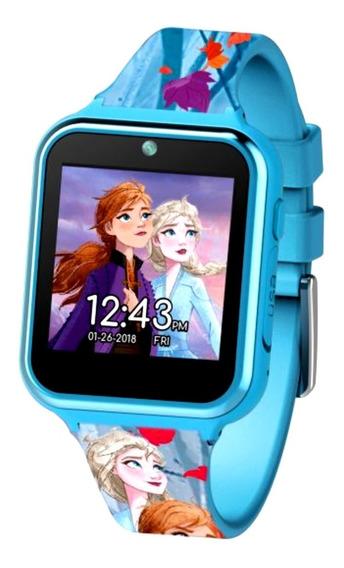Reloj Interactivo Smartwatch Frozen 2 Anna Elsa Olaf