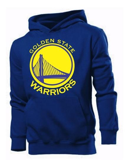 Moletom Golden State Warriors Moleton Blusa De Frio Canguru