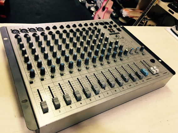 Mesa De Som 12 Canais Ll Audio Millenium - Jarbas Instrum.