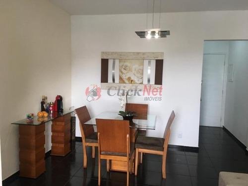 Ótimo Apartamento À Venda No Bairro Assunção Em São Bernardo - 6971