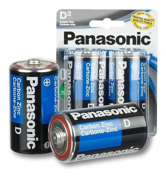 Pilas Bateria D Panasonic X 3 Blister Somos Tienda Física-