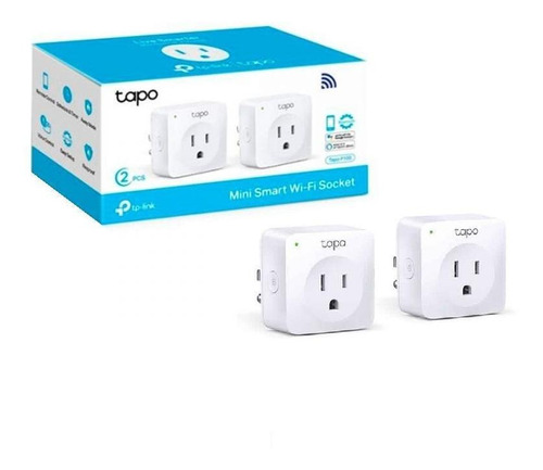 Tp-link, Mini Enchufe Inteligente Wifi, Tapo P100 2pack