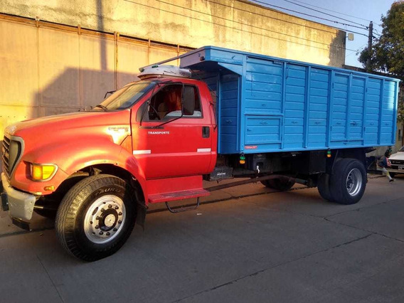 Camion Ford 14000 C160 Mod 2000 Carrozado Cereal Impecable!!