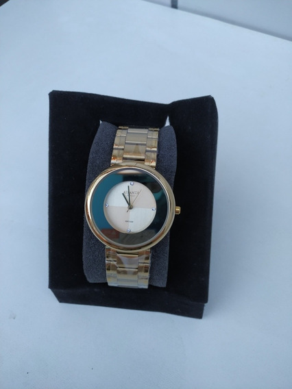 Relógio Dourado Atlantis