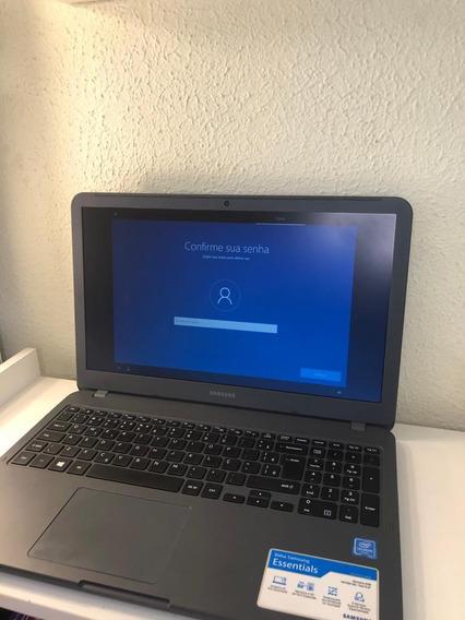 Notebook Samsung Essentials W10 Intel Celeron 4gb 500gb Hd