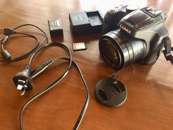 Máquina Fotográfica Semi Profissional Panasonic Dmc Fz70