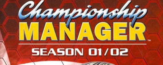 Championship Manager Cm 01/02 Atualizado Setembro 2019