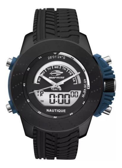 Relógio Masculino Mormaii Premium Mova002/8p Preto