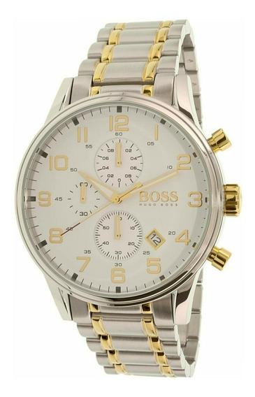 Relógio Masculino Hugo Boss Aeroliner 1513236 Completo