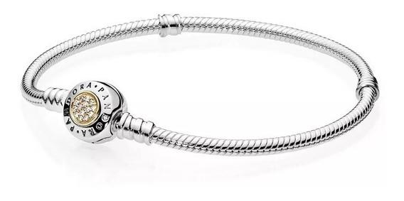 Bracelete Signature Prata 925 Est Pandora