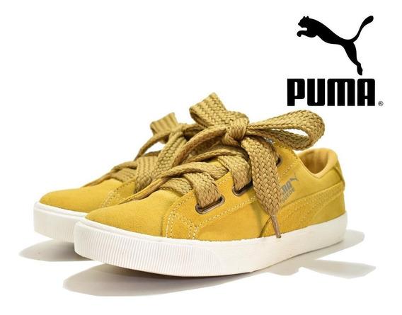 Tênis Feminino Puma Suede Heart Ártica