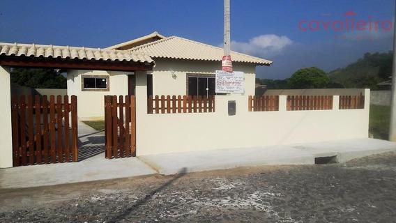 Casa Com 4 Dormitórios À Venda, 99 M² Por R$ 310.000 - Caxito - Maricá/rj - Ca2508