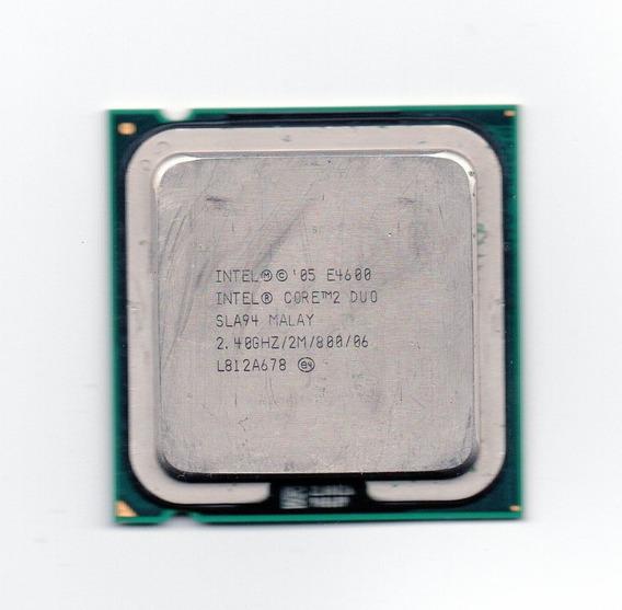 Processador Intel Core 2 Duo E4600 2.40ghz Lga775 Fsb800 2mb