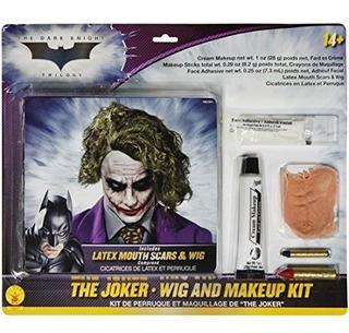 Rubies Deluxe Joker Wig Kit De Maquillaje