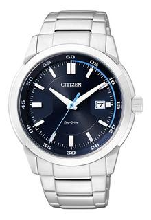 Reloj Hombre Citizen Eco Drive Acero Calendario Wr100m