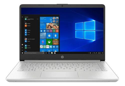 "Notebook HP 14-DQ1043CL plata 14"", Intel Core i3 1005G1  8GB de RAM 256GB SSD, Intel UHD Graphics 1920x1080px Windows 10 Home"