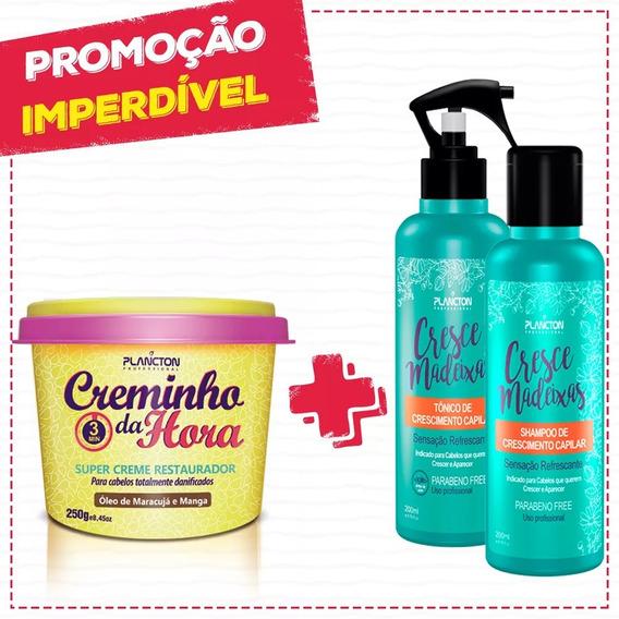 Creminho Da Hora + Cresce Madeixas + Brinde