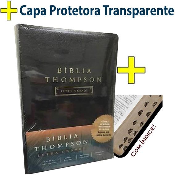 Biblia Sagrada Thompson De Estudo - Letra Grande - Original