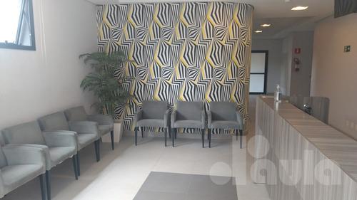 Sala Comercial Com Piso Iluminação 32m² Vila Guiomar - 1033-11984