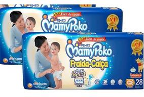 Fralda Calca Mamypoko Xxg 56 Unidades / 2 Pacotes Com 28 Uni