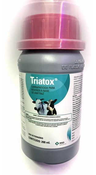 Triatox Pulverização Antipulgas E Carrapatos - 200 Ml