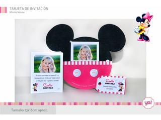 Tarjetas De Mickey Mouse Gratis Para Imprimir En Tucumán En