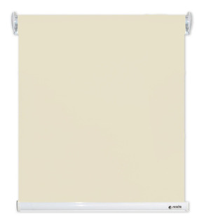 Persiana Scala Roller Blackout Lisa 100 X 160 Color Crema